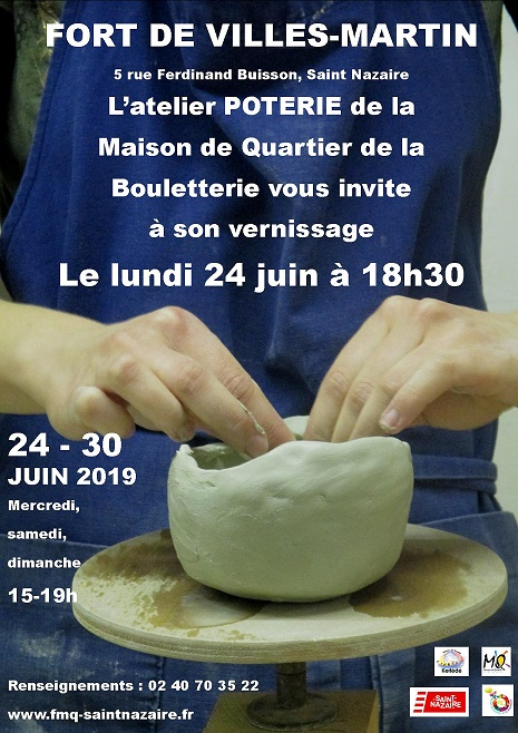 vernissage poterie