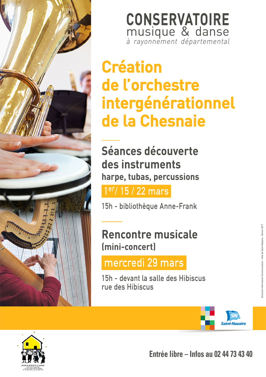 Flyer Orchestre Chesnaie 1
